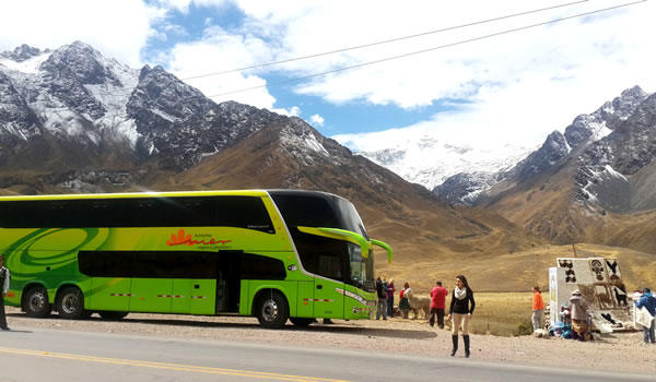 Bus Puno – Chivay with tourist stops <span>1 day or 2D/1N</span>