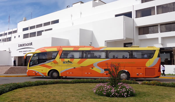 Bus Puno – Arequipa with tourist stops <span>half day am only</span>