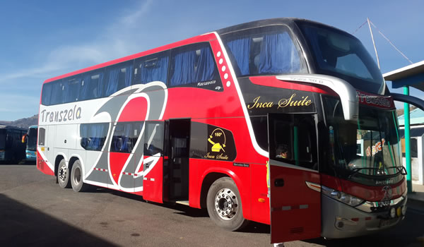 Bus Puno – Cusco / Cusco – Puno <span>direct 8 hrs.</span>